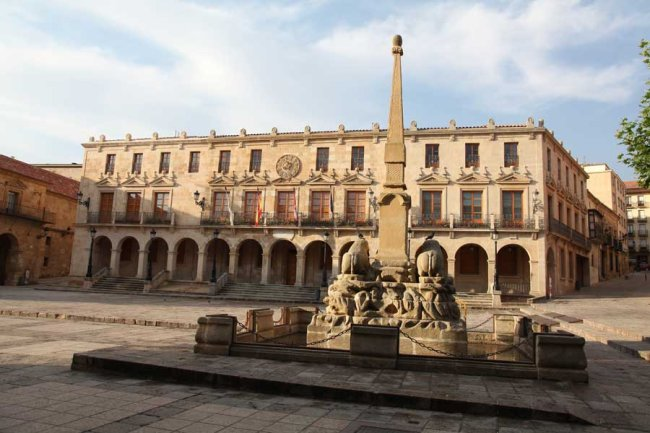 Plaza Mayor de Soria © JaDíaz