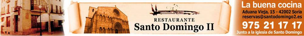 Restaurante Santo Domingo, en Soria, la buena cocina