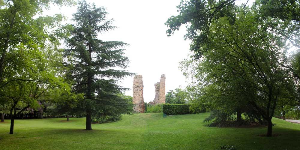 parque del castillo soria